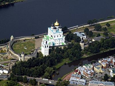 Псковская крепость состояла из